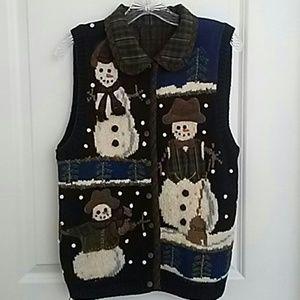 snowmen vest